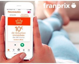 Groupon: Pour 1€ seulement, profitez de -10€ dès 30€ d'achat et de la livraison offerte chez franprix