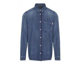 Citadium: Carhartt Wip - Chemise Slim-fit en jean bleu à -50%
