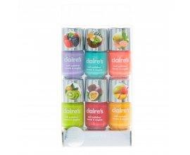 Claire's: Lot de 6 vernis à ongles fluo parfumé aux fruits à 4,99€ au lieu de 9,99€