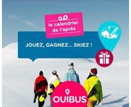 OUIBUS: 3 week-ends au ski, des forfaits et des bagages Delsey à gagner