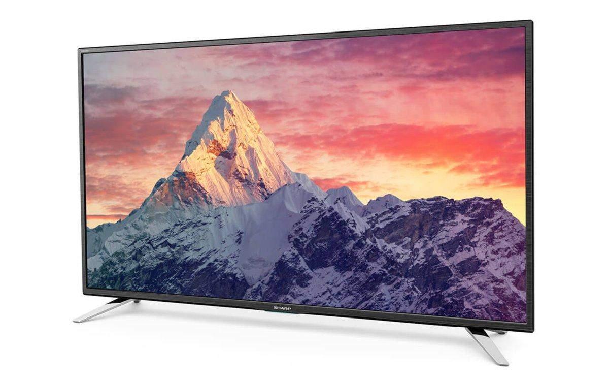 "tv led 49"" sharp lc-49cfe5001e en solde à 329,99€ @ rue du commerce"