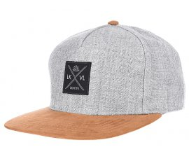 Planet Sports: Lakeville Mountain Stitch - Casquette snapback - Gris à 17,95€ au lieu de 19,95€