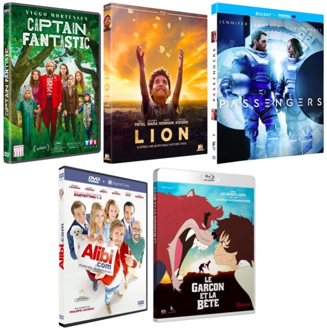 Code promo Amazon : 30€ de réduction dès 60€ d'achat sur une sélection de films et séries en DVD et Blu-ray