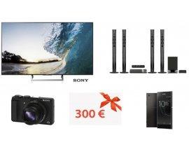 Françoise Saget: 1 écran TV LED, 5 home cinéma, 5 appareils photo, 5 chèques de 300€ & 5 smartphones à gagner