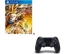 Cdiscount: Dragon Ball FighterZ sur PS4 + Manette DualShock 4 Noire à 79,99€