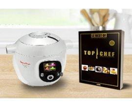 "Florette: 1 robot Cookeo Moulinex & 30 livres ""Top Chef"" à gagner"