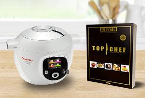 "Code promo Florette : 1 robot Cookeo Moulinex & 30 livres ""Top Chef"" à gagner"