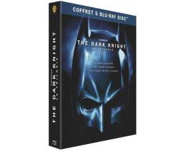 Amazon: Coffret Blu-ray édition spéciale Trilogie The Dark Knight à 12,49€