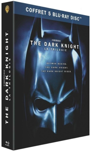 Code promo Amazon : Coffret Blu-ray édition spéciale Trilogie The Dark Knight à 12,49€