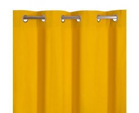 Castorama: Rideau couleurs zen jaune 140 x 240cm à 16,95€ au lieu de 19,99€