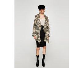 Zara: Manteau avec franges à -62,5%