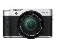 Amazon: Fujifilm Kit d'Appareil Photo X-A10 avec Objectif XC16-50 mm 16,3Mpx à 382,07€ au lieu de 549€