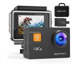 Amazon: 【Upgraded】APEMAN Caméra Sport disponible en solde jusqu'a 23 %