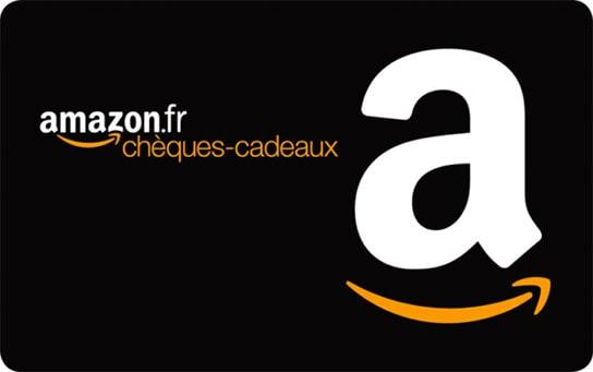 Code promo Amazon : 6€ offerts pour l'achat de 50€ de chèques-cadeaux