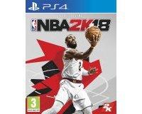Cultura: [Jeu PS4] Jeu NBA 2K18 au prix de 29,99€ au lieu de 49,99€