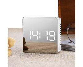 GearBest: Horloge miroir S70 LED - SQUARE WHITE à 7,99€ au lieu de 11,81€