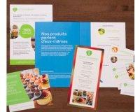 Vistaprint: 1 Kit d'échantillons gratuit pour vous faire une idée des produits vendus