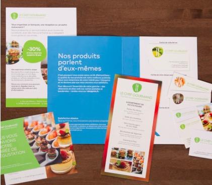 Vistaprint 1 Kit Dechantillons Gratuit Pour Vous Faire Une Idee Des Produits Vendus