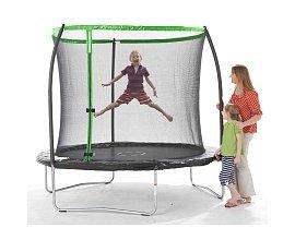ToysRUs: Trampoline vert + filet de 2,44 m chez ToysRUs à 99,99€ au lieu de 149,99 €