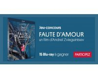 "Courrier International: 15 Blu-Ray du film ""Faute d'amour"" à gagner"