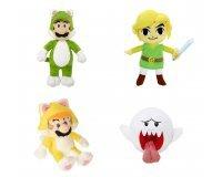 Auchan: Peluche 15cm Mario/Luigi/Boo/Link à 4,99€ l'unité