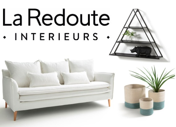 Code promo La Redoute : 40€ de réduction tous les 100€ d'achat sur une sélection meubles et déco