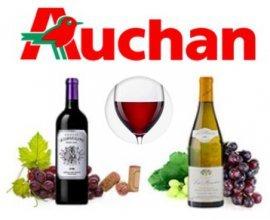 Auchan: 10% de remise supplémentaire sur une sélection de vins grands crus