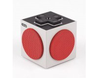 Fnac: -10€ sur le haut-parleur portatif multidirectionnel 8bitdo Retro Cube Blanc et rouge
