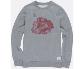 Spartoo: -10% supplémentaire sur le Sweat Ramps Crew Grey Heather Gris Element