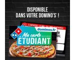 Domino's Pizza: Carte de réduction Domino's gratuite pour les étudiants