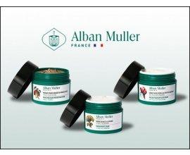 Femme Actuelle: Des routines de 3 soins naturels Alban Muller à gagner