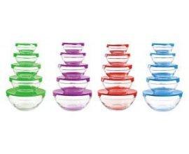 Groupon: 5 boîtes de conservation en verre - Plusieurs coloris 9,90€