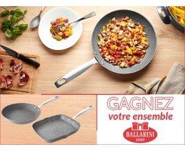 Cuisine Actuelle: Un ensemble de cuisine BALLARINI