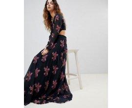 ASOS: Zibi London - Robe longue à fleurs à 60,99€ au lieu de 95,99€