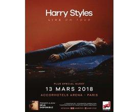 NRJ: 3 x 2 places pour le concert de Harry Styles le 13/03 à Paris à gagner