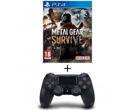 Cdiscount: Pack Jeu Metal Gear Survive PS4 + Manette DualShock 4 Noire V2 à 69,99€