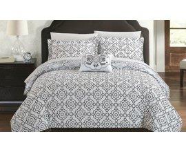 Groupon: Ensemble couvre-lits réversible imprimé bohème 100% coton 3 ou 4 pièces à 54,99€ au lieu de 159,99€