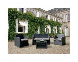 salon bas de jardin lagos graphite 149 90 au lieu de 169 90 rue du commerce. Black Bedroom Furniture Sets. Home Design Ideas
