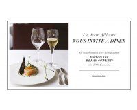 Un Jour Ailleurs: [Invitation à dîner] -  Un repas offert dès 200€ d'achat