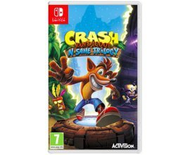Base.com: Crash Bandicoot N. Sane Trilogy sur Nintendo Switch à 32,17€