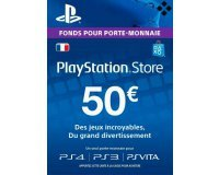 eBay: Carte Playstation Network de 50€ au lieu de 41,49€