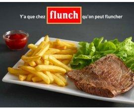 Groupon: Pour 1€ profitez de 20% de réduction sur votre addition dans les restaurants Flunch 7J/7 Midi & Soir