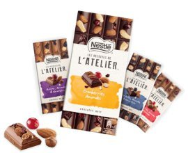 Croquons la Vie: 2000 lots de 3 tablettes de chocolats à tester