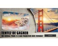 """Renault: Gagnez un voyage pour 2 personnes à San Francisco pour vivre une expérience """"Star Wars""""."""