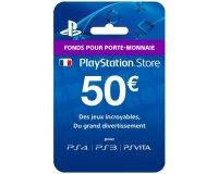 CDKeys: Carte Playstation Network (PSN) de 50€ au prix de 42,67€ au lieu de 50€