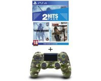 Cdiscount: Pack PS4 Tomb Raider Edition Definitive + Rise of the Tomb Raider + Manette PS4 Green Camo à 69,99€