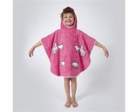 Brandalley: Ifilhome zanimo - poncho de bain - rose à 15,20€ au lieu de 19€