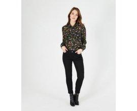 1.2.3: Pantalon Jean noir slim 7/8ème Turenne à 42,50€ au lieu de 85€