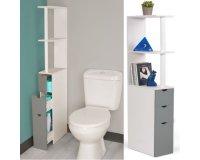 Cdiscount: Meuble étagère pour WC à 26,99€ au lieu de 59,99€