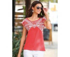 3 Suisses: Tee-shirt manches courtes imprimé femme à 10,49€